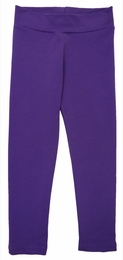 "Lemon Loves Lime Basic Deep Lavender ""Skinny"" Legging"