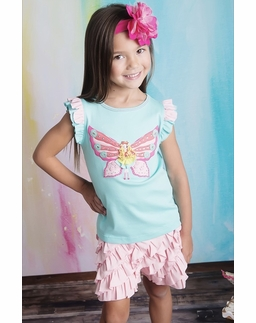Lemon Loves Lime Butterfly Fairy Tee SOLD OUT!
