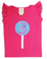 "Lemon Loves Lime Cabaret ""3rd Birthday"" Tank Top<br>Sizes 3-4"