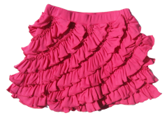"Lemon Loves Lime Cabaret Pink ""Ruffle"" Skort<br>Sizes 3-10"