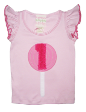 "Lemon Loves Lime Fairytale ""1st Birthday"" Tank Top<br>Sizes 12m-2"