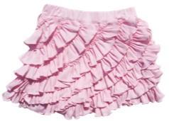 "Lemon Loves Lime Fairytale ""Ruffle"" Skort<br>Sizes 3-10"
