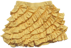 "Lemon Loves Lime Impala ""Ruffle"" Skort"