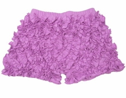 Lemon Loves Lime Lilac Chiffon Ruffle Shorts