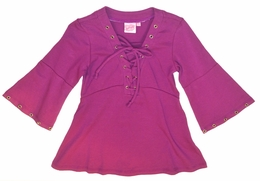 Lipstik Girls Fall Wine Knit Tunic Top<br>*PREORDER*