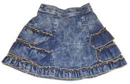 "Little Mass Must Have ""Missha"" Soft Denim Skirt *PREORDER*"
