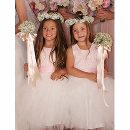 MaeLi Rose Special Occasion Pink Fancy Dress