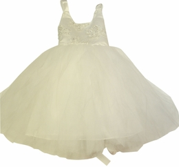 MaeLi Rose Stunning White Special Occasion Dress