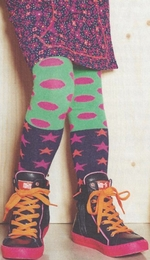 Mim-pi Fun Polka Dot Tights<br>*PREORDER*