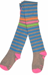 Mim Pi Precious Blue Stripe Sassy Stockings *FINAL SALE*