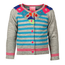 Mip Pi Amazing Stripe Sweater with Gorgeous Floral Neckline *FINAL SALE* SOLD OUT!