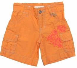"Mimi & Maggie ""Island Summer"" Orange Cargo Shorts *FINAL SALE*"