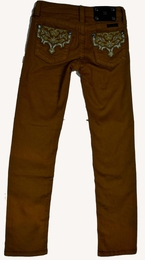 Miss Me Trendy Brown Skinny Jeans *FINAL SALE*