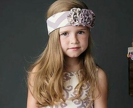 "Mustard Pie Lavender ""Flora"" Head Band For Spring<br>Sizes XS - Large"