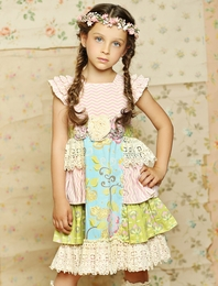 "Mustard Pie Multi ""Delphine"" Stunning Tea Party Dress SOLD OUT!"
