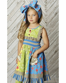 "Mustard Pie Rose Garden ""Scrappy Ramona"" Dress SOLD OUT!"