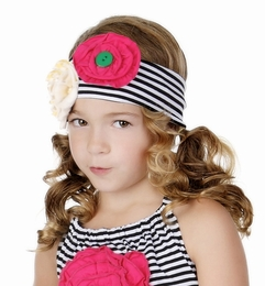 One Posh Kid Bella Chic Soft Knit Headband