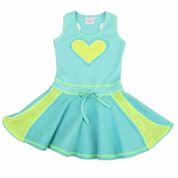 Ooh La La Couture Aqua Dress & Hoody Two Piece Springy Set