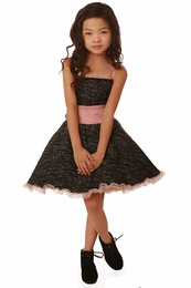 Ooh La La Couture Blush Coco Tweed Wow Pouf Dress *PREORDER*