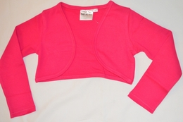 Ooh La La Couture Hot Pink Must Have Bolero<br>Size 4T & 4