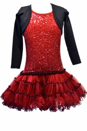Ooh La La Couture Perfect Black Bolero