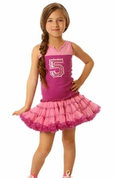 Ooh La La Couture Pink Varsity Birthday Dress