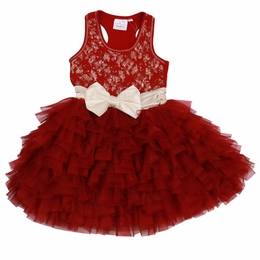 Ooh La La Couture Red Lace WOW Dream Dress
