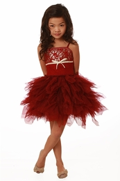 Ooh La La Couture Red Lace WOW Emma Dress