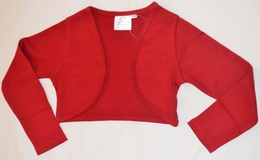 Ooh La La Couture Ruby Red Bolero<br>Sizes 4T-14