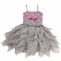 Ooh La La Couture Silver Lace WOW Emma Dress