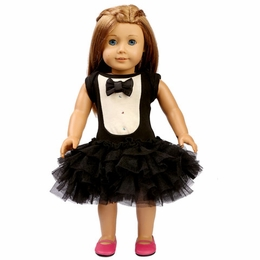 Ooh La La Couture Tuxedo Doll Dress
