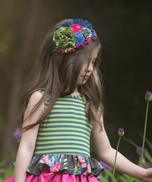 "Persnickety ""Forget Me Not"" Clover Headband SOLD OUT!"