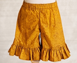"Persnickety Golden Girls Gold ""Mae"" Shorts *FINAL SALE*-SOLD OUT!"