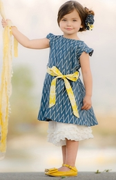 "Persnickety ""Sail Away"" Beautiful Blue Ella Dress<br>Sizes 2-12"