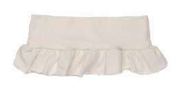 Persnickety Basic White Ruffle Shirt Extender<br>Sizes 12M-12
