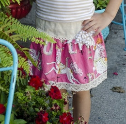 "Sado ""Carousel Craze"" Pink Fancy Skirt"