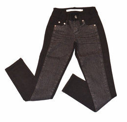 Tractor Black Denim Front Ponti Legging