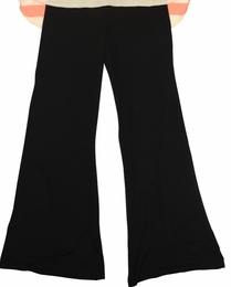 Tru Luv Black Knit Must Have Palazzo Pants