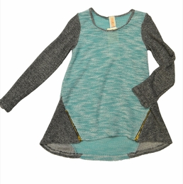 "Tru Luv Mint ""Kaleidoscope"" Tween Trendy Top *PREORDER*"