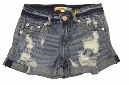 Vintage Havana Worn In Boyfriend Jean Shorts