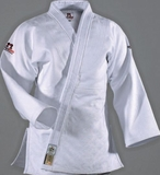 DanRho Ultimate Gold IJF Judo Gi in White