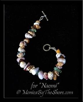 "Custom ""Beach Candy"" Bracelet for Naomi"