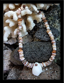 "Custom for ""Christine"" Puka Shell and North Shore Hawaiian Seashell Necklace"