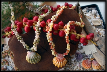Press Release for Sunrise Shell Jewelry Designs by MonicaByTheShore
