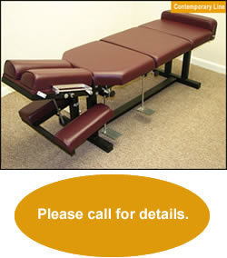 Chiropractic Drop Tables Contemporary Line