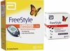 Abbott FreeStyle Freedom Lite Meter and 50 Test Strips