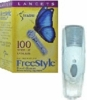 Abbott Freestyle Lancing Device + 100 Freestyle Lancets