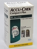 Accu-Chek Compact PLUS Test Strips 51Ct. Nfrs
