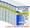 Accu-Chek Softclix Lancets -12 Box of 100