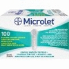 Bayer Ascensia Microlet Lancets - 100 Box